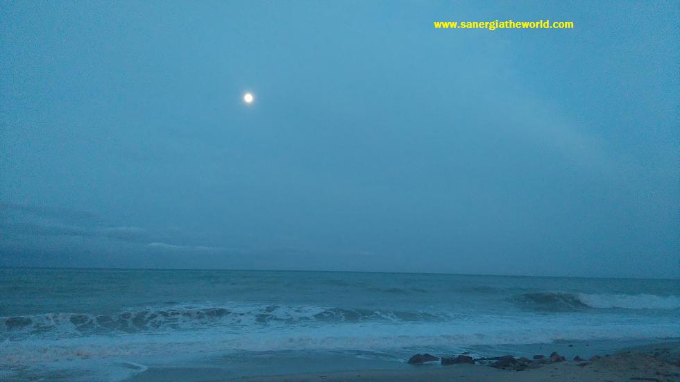 amor de la luna al mar